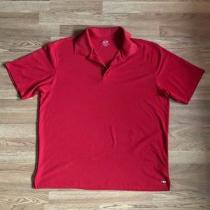 C9 by Champion Golf Polo Sz XL Duo Dri Red *53H*